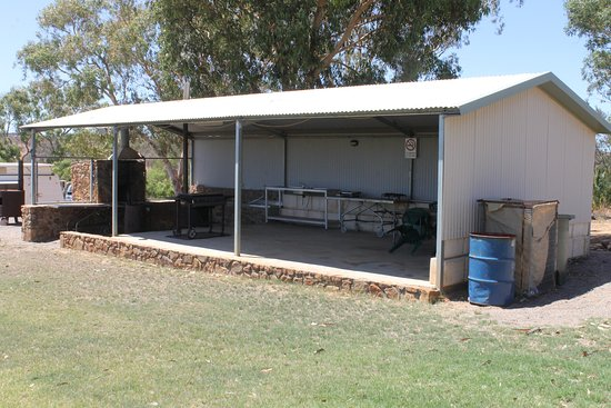Northampton, Austrália: Northbrook camp kitchen