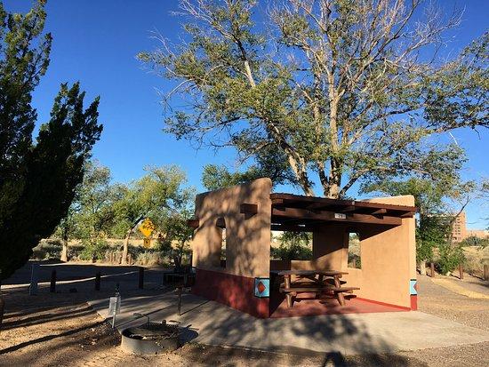 Bernalillo, NM: Adobe Shelter At Campsites