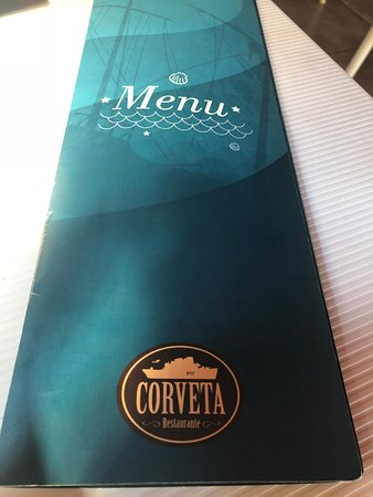 Corveta Restaurante: Menu