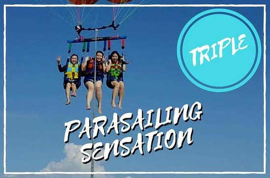 Parasailing Sensation - Triple Flyers