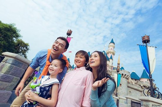 Hong Kong Disneyland Eintritt E-Ticket