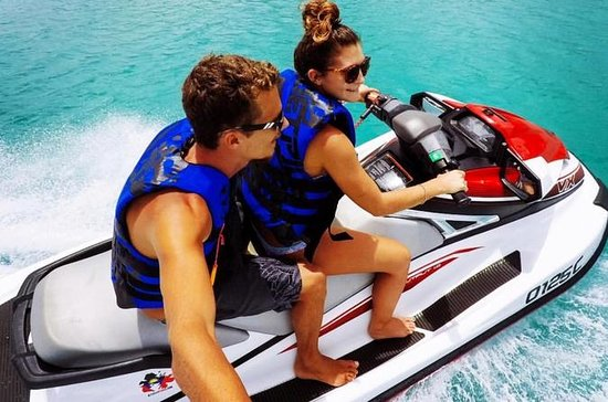 2hr Jet Ski Antigua Guided Jet Ski Tour with Beach Break