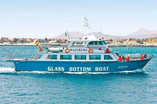 Fähre nach Isla de Lobos, Hin- und Rückfahrt von Corralejo...