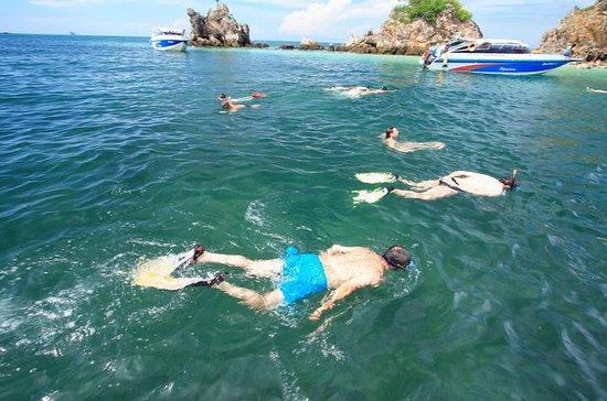 Vier Inseln mit dem Schnellboot - Koh...
