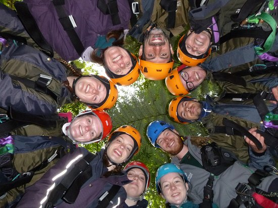 Rotorua Canopy Tours: Our group