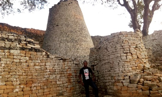 Masvingo, Zimbabwe: The Great enclosure - Inside with the Conical Tower