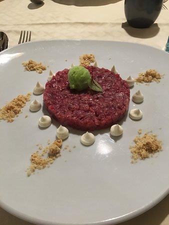 Rognano, Италия: tartare