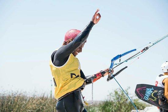 Adeuri will come next year to Sicily Kite School Sicily Ariel Corniel. Kite clinic with Ariel!