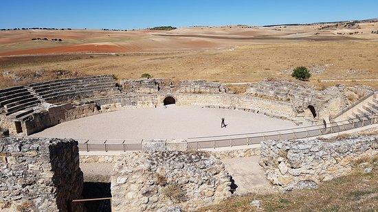 Saelices, España: anfiteatro de Segóbriga