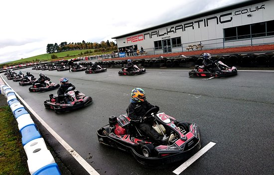 Oswestry, UK: Rednal Karting