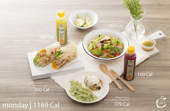 Cela Healthy Fastfood Hanoi Menu Prices Restaurant