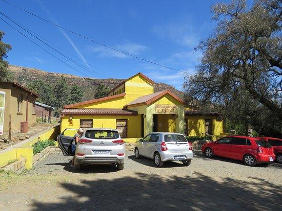 Morija, Lesotho: museum entrance