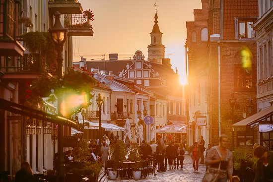 Kaunas, Lithuania: Vilnius street. Photo by: A. Aleksandravičius