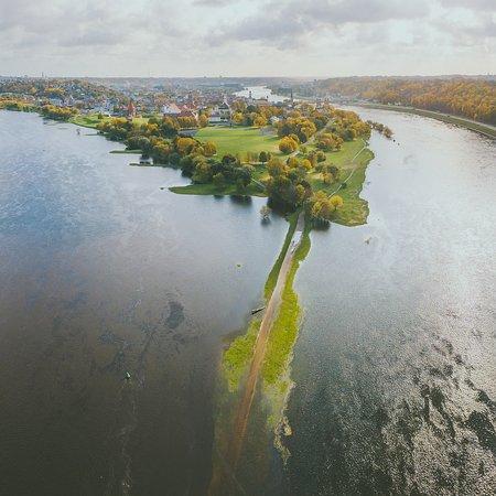 Kaunas, Lithuania: Nemunas and Neris confluence. Photo by: A. Aleksandravičius
