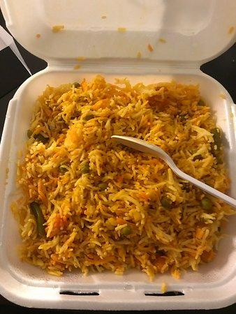Al-Noor Restaurant: Veg Biryani