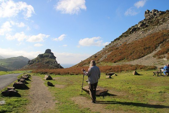 Valley of the Rocks: Off we go