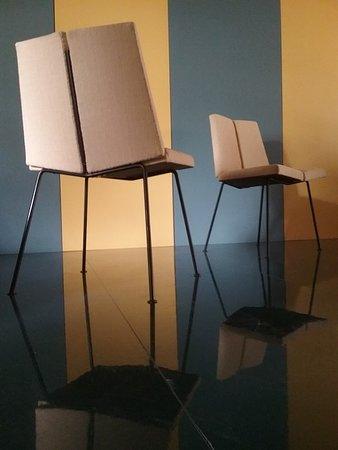 "Brighton and Hove, UK: Pierre GUARICHE ""4 Faces chairs"" Design Renaissance Gallery"