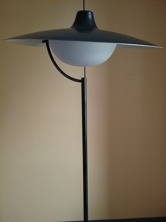 """Brighton and Hove, UK: Jacques BINY floor lamp LUMINALITE """"DR Gallery"""""""