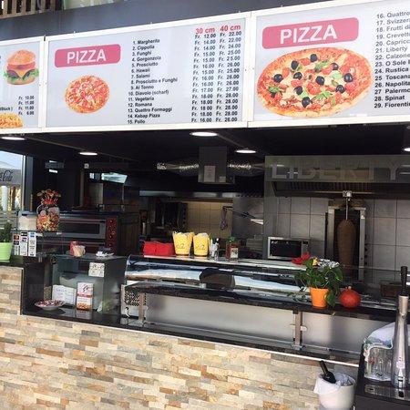 Steinhausen, Švajcarska: Pizzeria Liberty