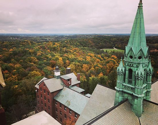 Hubertus, WI: The view from the church tower