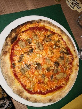Pizzeria Focacceria Quattrocento: Pizza Thomas senza glutine