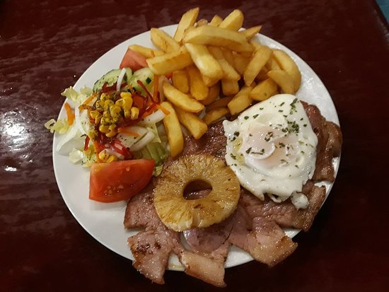 El Pinar de Campoverde, Испания: gammon steak