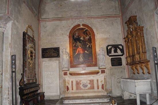 Cattedrale di San Giusto Martire : Bild innifrån katedralen
