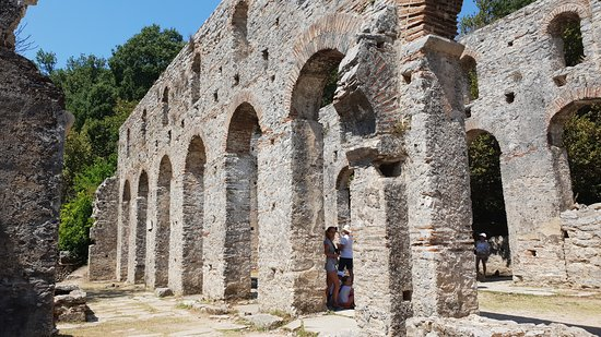 Butrint, Albania: This place was huge