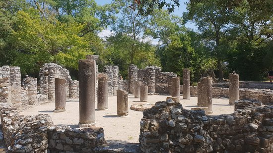 Butrint, Albania: Can;t remember what this was!