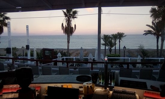 Mojacar Playa, Spain: Don't wory when its getting colder outside our indoor restaurant is heated