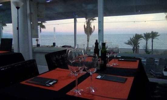 Mojacar Playa, Ισπανία: In winter you can of course dine inside our cosy restaurant.