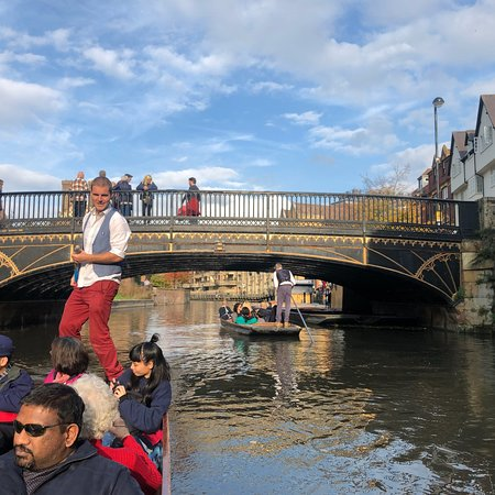 Definitely recommend doing a punting tour