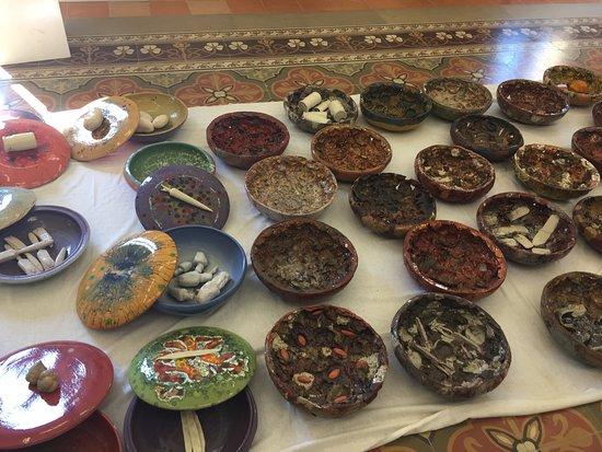 MuSea Museo Vivo del Mare di Pioppi: Manufatti