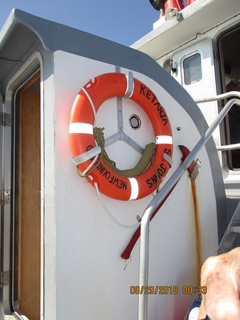 Ketanja Boat Tours: The boat is named after the skipper's children