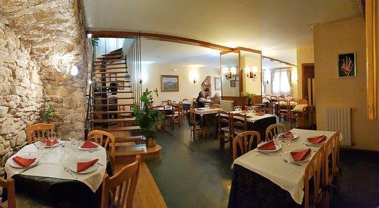 Benabarre, Espanha: Salle cosy