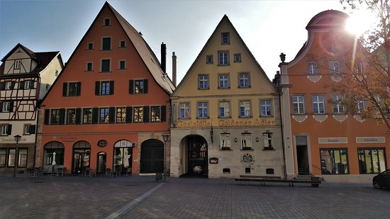 Weissenburg in Bayern, Jerman: Old town
