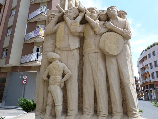 Monumento a Los Xiquets de Valls, Castellers o Torres Humanas