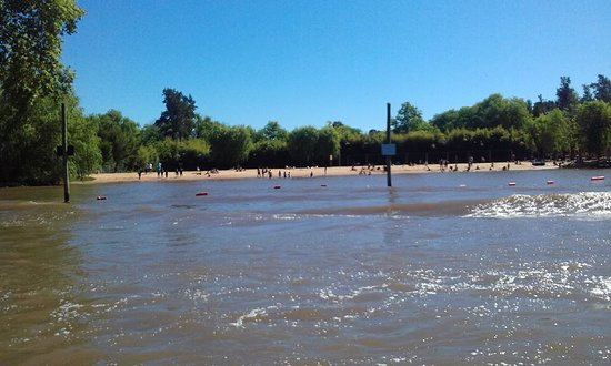 Delta El Tigre: Playas en medio del Delta.
