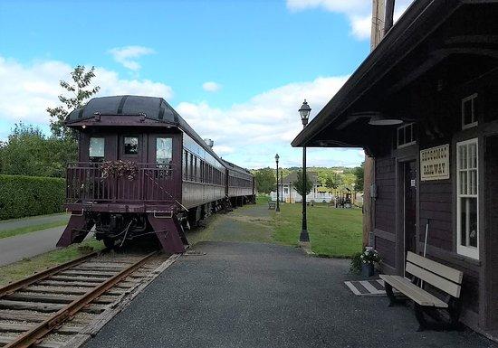 Florenceville-Bristol, Canadá: Railway Museum