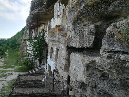 Tipova, Moldova: monastery
