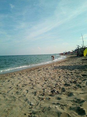 Lido di Dante, Włochy: Spiaggia della bassona