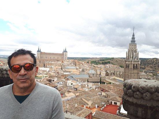 Iglesia de San Ildefonso Jesuitas: amazing city view !