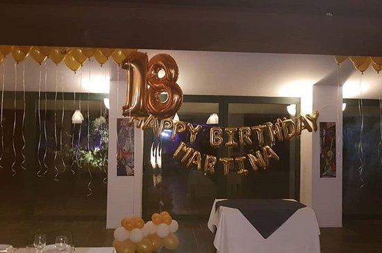 Pignola, อิตาลี: festa del mio 18º compleanno