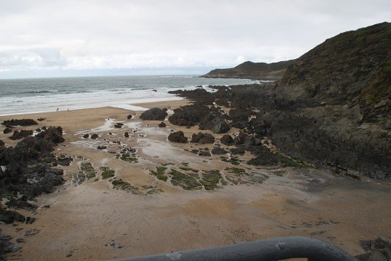 Barricane Beach: from the top