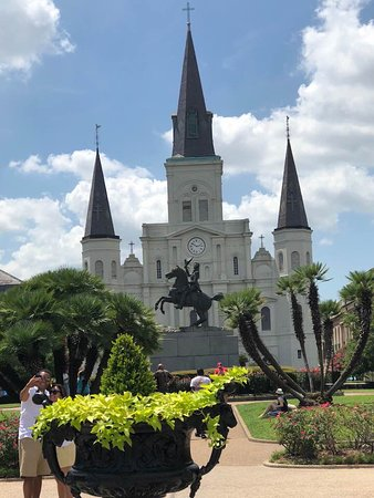 French Quarter: st louis cathedral