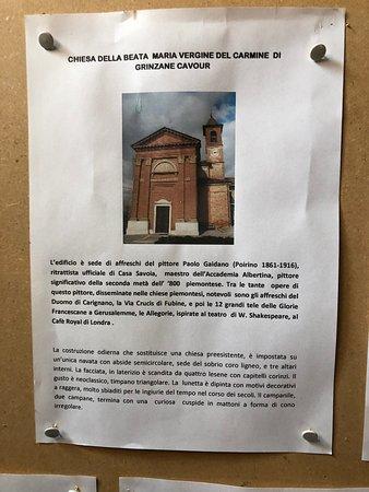 Chiesa Parrocchiale di Maria Vergine del Carmine: History of the church