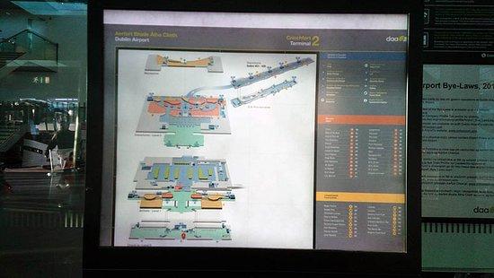 a map - Picture of Dublin Airport Terminal 2, Dublin - TripAdvisor Dublin Hotels Map on