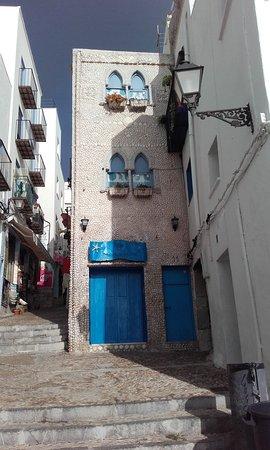 Casa de Las Conchas: Frente de la casa.