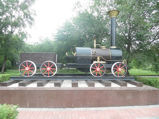 Monument to the First Steam Locomotive Cherepanovykh