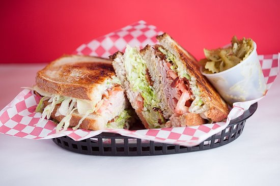 Charlie's Deli: Club Sandwich for Two